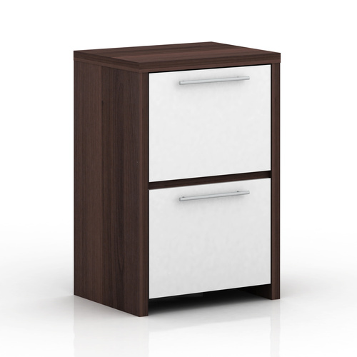Cosmoliving W50 x H75cm 2 Drawer Foolscap Filing Cabinet